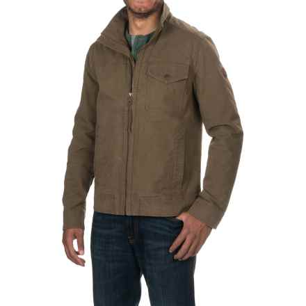 Timberland Mount Davis Timeless Jacket - Waxed Cotton (For Men) in Shitake - Closeouts