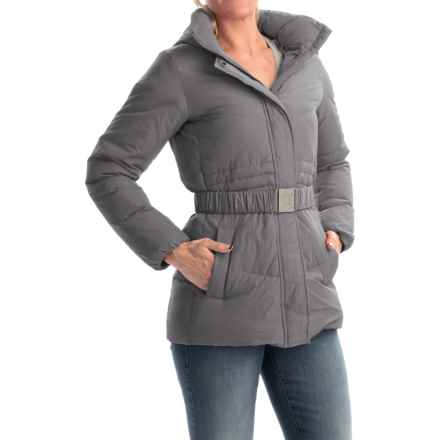 Timberland Mount Madison Mid Down Coat - 550 Fill Power (For Women) in Tornado - Overstock