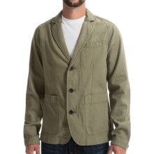 Timberland Mount Mansfield Blazer - Cotton-Linen (For Men) in Cassel Earth - Closeouts