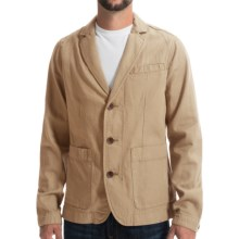 Timberland Mount Mansfield Blazer - Cotton-Linen (For Men) in Travertine - Closeouts