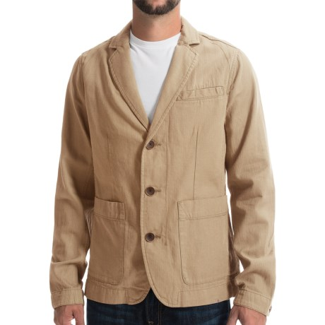 Timberland Mount Mansfield Blazer Cotton Linen (For Men)