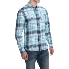 Timberland Mystic River Shirt - Linen, Long Sleeve (For Men) in Electric Blue - Closeouts