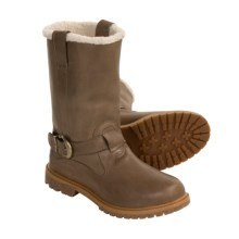 Timberland Nellie Pull-On Boots - Waterproof (For Women) in Taupe - 2nds