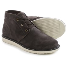 Timberland Newmarket Chukka Boots - Suede (For Men) in Dark Brown - Closeouts