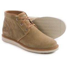 Timberland Newmarket Chukka Boots - Suede (For Men) in Tan - Closeouts