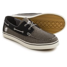 Timberland Newmarket Oxford Boat Shoes (For Men) in Grey - Closeouts
