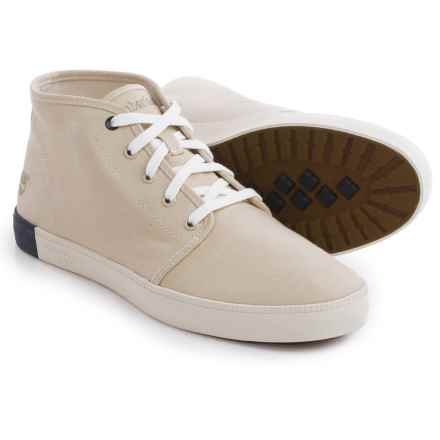Timberland Newport Bay Canvas Chukka Boots (For Men) in Off White - Closeouts