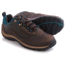 Timberland Norwood Low Hiking Shoes - Waterproof, Leather (For Women) in Dark Brown - Closeouts