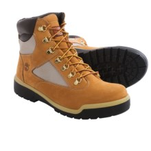 "Timberland Nubuck Field Boots - Waterproof, 6"" (For Men) in Wheat - Closeouts"