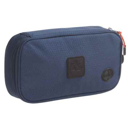 Timberland Nylon Cord Organizer Case in Navy Blue - Closeouts
