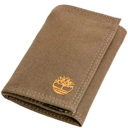 Timberland Nylon Trifold Wallet in Khaki - Closeouts
