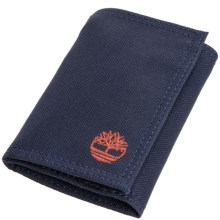 Timberland Nylon Trifold Wallet in Navy Blue - Closeouts