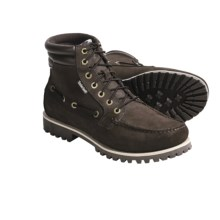 Timberland Oakwell 7-Eye Boots - Moc Toe (For Men) in Brown - Closeouts
