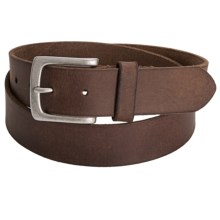 Timberland Oiled Leather Belt (For Men) in Brown - Closeouts