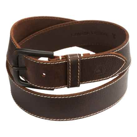 Timberland Oily Milled Leather Belt - 40mm (For Men) in Brown - Closeouts