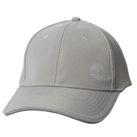 b46bdd38330 Timberland Ottoma Stretch Baseball Cap with Reflective Logo (For Men) in  Grey - Closeouts