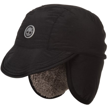 20408e472f6 Timberland Outdoor Brim Hat - Faux-Fur Lined (For Men) in Black