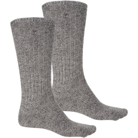 Timberland Outdoor Leisure Socks - 2-Pack, Crew (For Women) in Black
