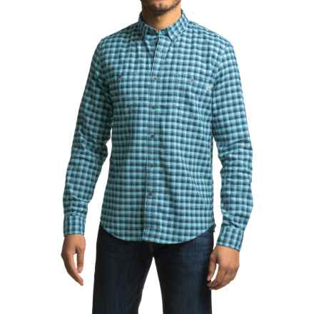Timberland Peabody River Check Shirt - Long Sleeve (For Men) in Niagara - Closeouts