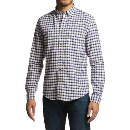Timberland Peabody River Check Shirt - Long Sleeve (For Men) in Red Clay - Closeouts