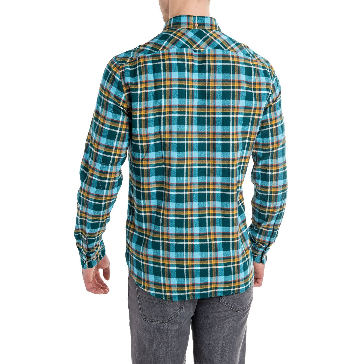 Timberland plaid flannel shirt for men save 67 for Mens slim fit flannel shirt