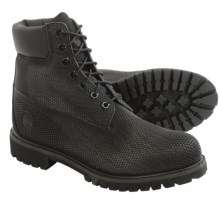 "Timberland Premium Exo Web Boots - Waterproof, 6"" (For Men) in Black - Closeouts"