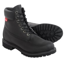"Timberland Premium Leather Boots - Waterproof, Insulated, 6"" (For Men) in Black - Closeouts"