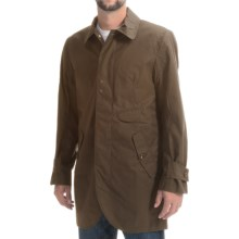 Timberland Premium Waxed Canvas Mac Trench Coat (For Men) in Dark Olive - Closeouts