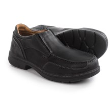 Timberland PRO Branston Alloy Toe Moc Work Shoes - Slip-Ons (For Men) in Black - Closeouts