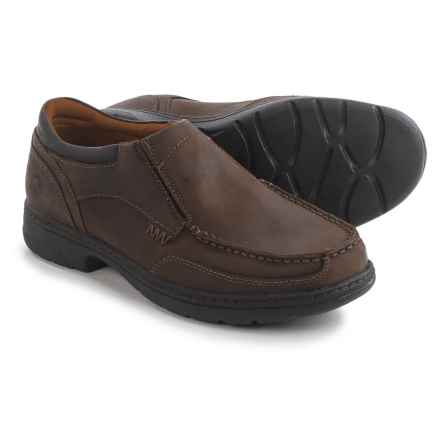 Timberland Pro Branston ESD Work Shoes - Leather, Soft Toe (For Men) in Brown - Closeouts