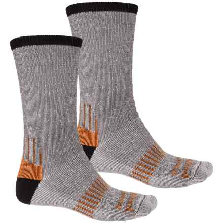 Timberland PRO® CoolTouch Socks - 2-Pack, Crew (For Men) in Black - Closeouts