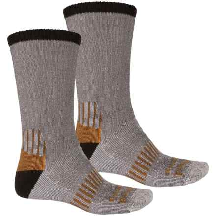 Timberland PRO® CoolTouch Socks - 2-Pack, Crew (For Men) in Brown - Closeouts