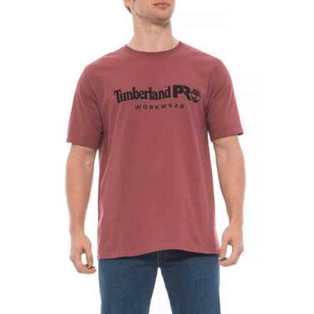 eb04e304d45 Timberland Pro Cotton Core T-Shirt - Short Sleeve (For Men) in Red