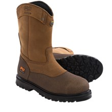 """Timberland PRO® Rigmaster Wellington Work Boots - Waterproof, Steel Toe, 9"""" (For Men and Women) in Brown - Closeouts"""