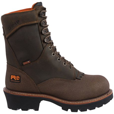 Timberland Pro Rip Saw Logger Steel Toe Work Boots