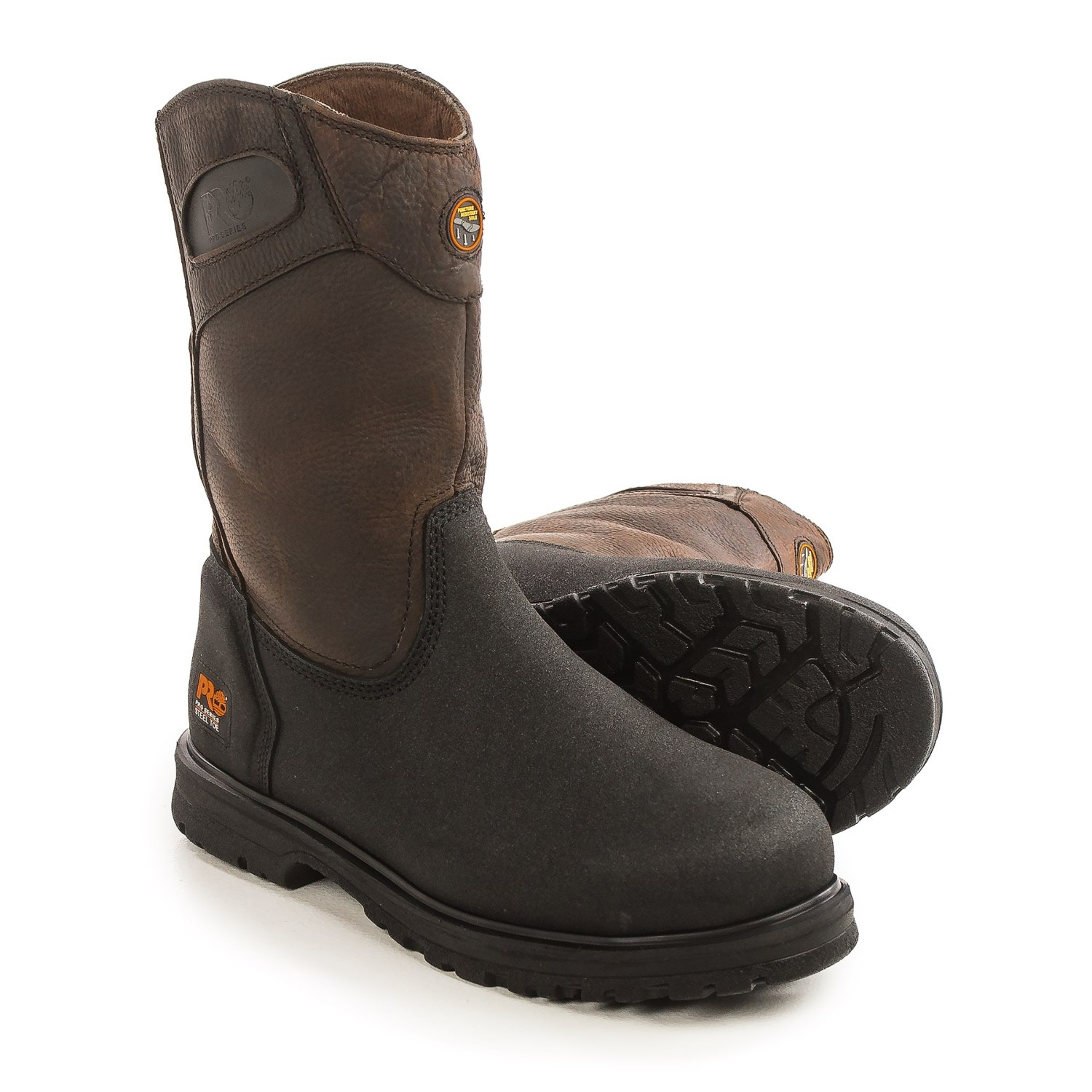 Timberland Pro Series Powerwelt Wellington Work Boots (For Men ...