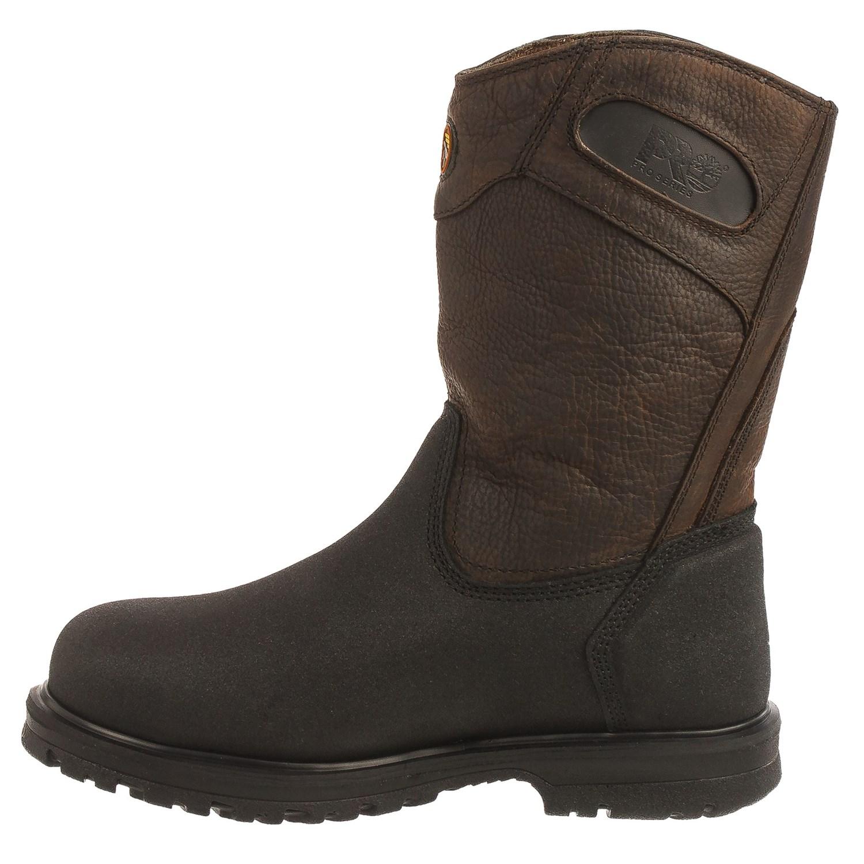 Timberland Pro Series Powerwelt Wellington Work Boots (For Men ...