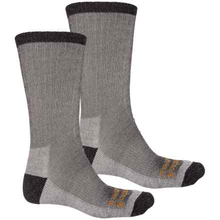 Timberland PRO® Socks - 2-Pack, Merino Wool, Crew (For Men) in Black - Closeouts