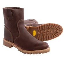 Timberland Pull-On Boots - Leather (For Men) in Dark Brown - Closeouts