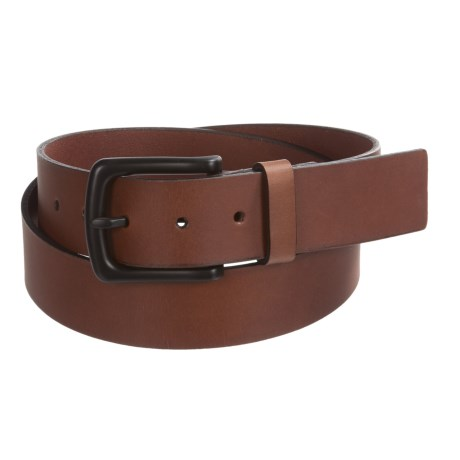 Timberland Pull Up Leather Belt (For Men) in Brown