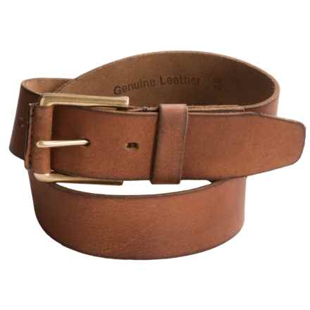 Timberland Pull Up Leather Belt (For Men) in Brown - Closeouts