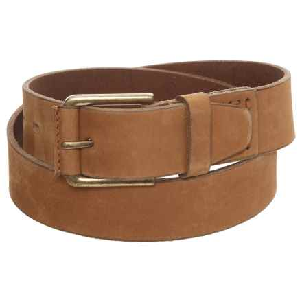 Timberland Pull Up Leather Belt (For Men) in Wheat - Closeouts