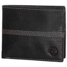 Timberland Quad Sportz Bifold Wallet in Black - Closeouts