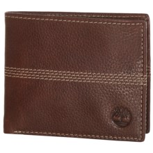 Timberland Quad Sportz Bifold Wallet in Brown - Closeouts