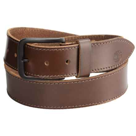 Timberland Retro Leather Belt (For Men) in Brown - Closeouts