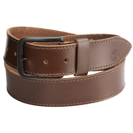 Timberland Retro Leather Belt (For Men) in Brown