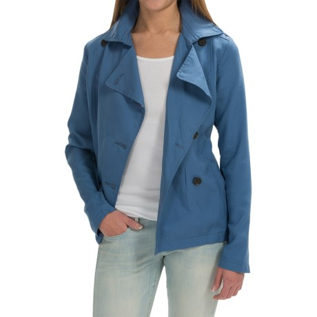 Timberland Rosebrook Short Trench Coat (For Women)