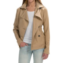 Timberland Rosebrook Short Trench Coat (For Women) in Travertine - Closeouts