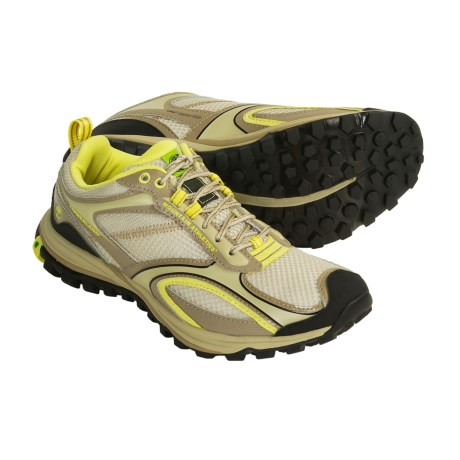 Timberland Route Racer Cross Training Shoes (For Women) in Tan/Yellow