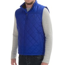 Timberland Rugged Galehead Vest - Insulated (For Men) in Surf The Web - Closeouts